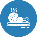 Chicken Dish Food Icon