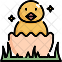 Chicken Easter Day Icon