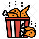 Chicken Fried Wing Icon