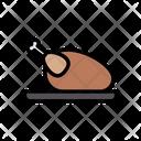 Chicken Food Dish Icon