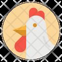 Chicken Bird Farm Icon