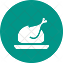 Chicken Roast Nonveg Icon