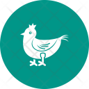 Chicken Roast Animaal Icon