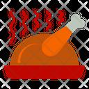 Chicken Autumn Fall Icon