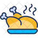 Party Food Dinner Event Icon