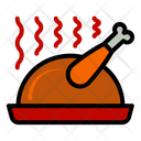 Chicken Autumn Fall Icon