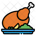 Chicken Turkey Food Icon