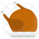 Chicken Eat Food Icon