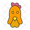 Chicken Hen Animal Icon