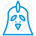 Chicken Bird Fly Icon