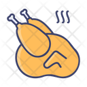 Bistro Chicken Meat Icon