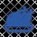 Chicken Non Veg Meat Icon