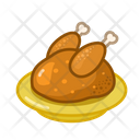 Chicken Food Turkey Icon
