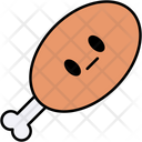 Chicken Meat Dish Icon
