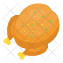 Roasted Chicken Grilled Icon