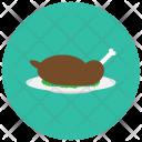 Chicken Roast Tundoor Icon