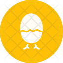 Chicken Egg Easter Icon