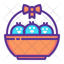 Chicken Chickling Easter Icon