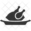 Chicken Broast Meal Icon