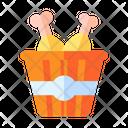 Chicken Bucket Bucket Chicken Icon