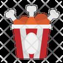 Chicken Bucket Food Icon