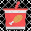 Chicken Bucket Icon