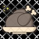 Chicken Dinner Icon