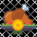 Chicken Dinner Winner Winner Chicken Dinner Battle Royale Icon