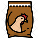 Chicken Feeding Icon