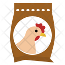 Chicken Food Animal Icon