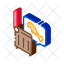 Chicken Food Trash Icon