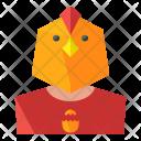 Chicken head Icon