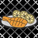Chicken Leg Icon