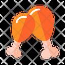 Chicken Leg Chicken Piece Drumstick Icon