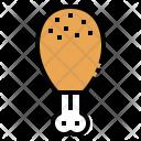 Chicken Leg Food Icon