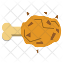 Chicken leg Icon