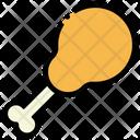 Drumstick Chicken Food Icon