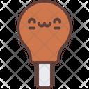 Fried Chicken Drumstick Icon