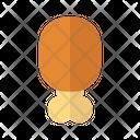 Chicken Meat Chicken Leg Chicken Thigh Icon