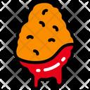 Chicken Nugget Icon