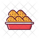 Fast Food Chicken Snack Icon