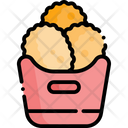 Chicken Nuggets Nuggets Meal Icon