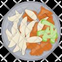 Chicken Penne Pasta Icon