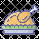 Chicken Piece Chicken Thigh Food Icon