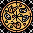 Chicken Pizza Icon