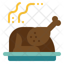 Chicken roast Icon