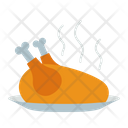 Chicken Roasted Chicken Meat Icon