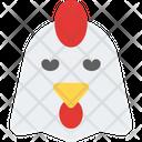 Chicken Sad Face Icon
