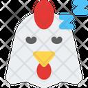 Chicken Sleeping Icon
