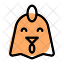 Chicken Smiling Icon